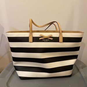 Kate spade sawyer street margareta stripe tote
